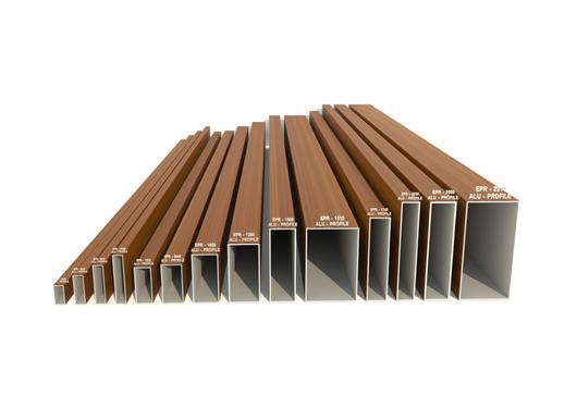 Technowood AluProfile - Aluminium Façade System