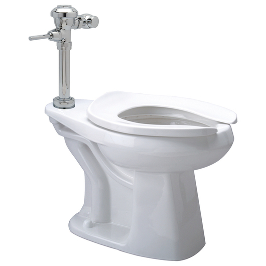 Diaphragm Floor Mount High Efficiency Toilet System - EcoVantage® 1.1gpf