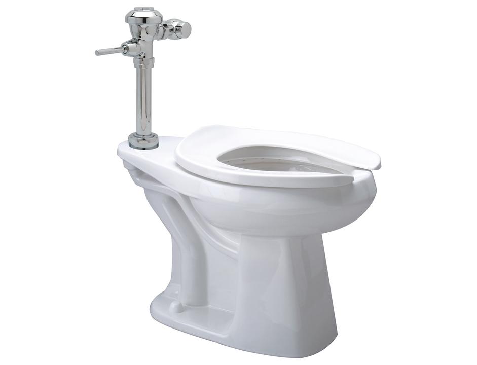 Diaphragm Floor Mount High Efficiency Toilet System - EcoVantage® 1.1gpf