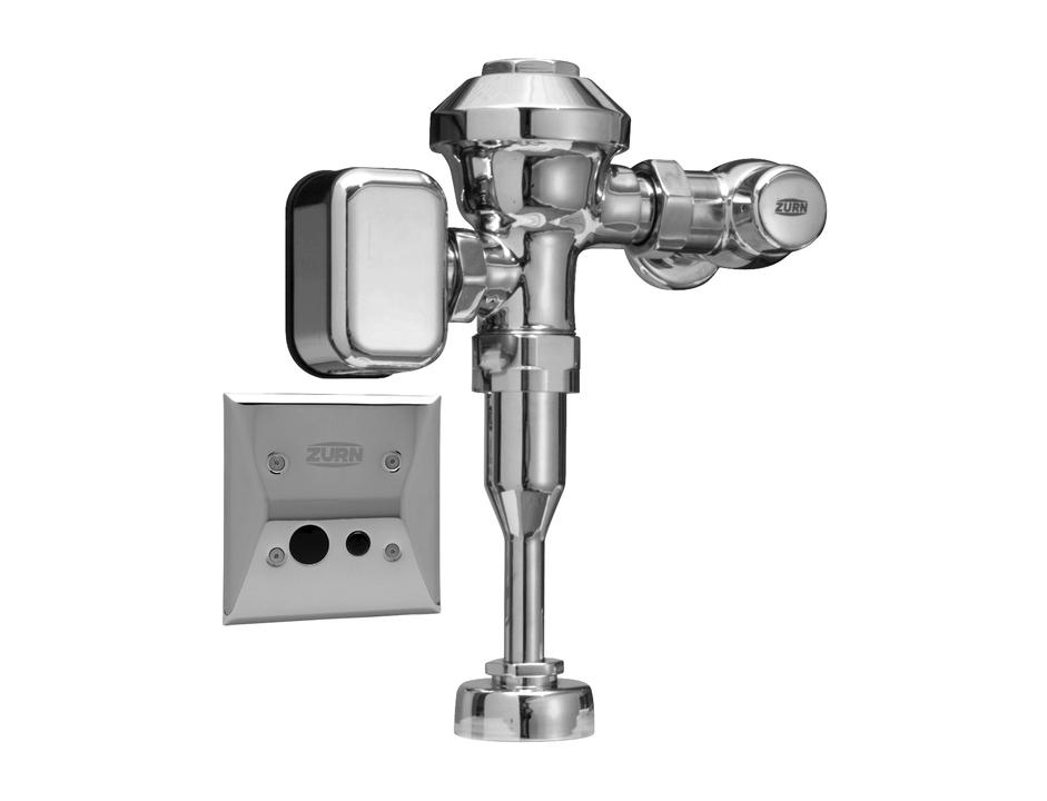 Concealed Sensor Flush Valve Aquasense 174 Av From Zurn