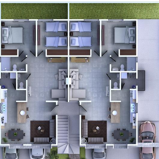 Plantas Arquitectónicas 3D
