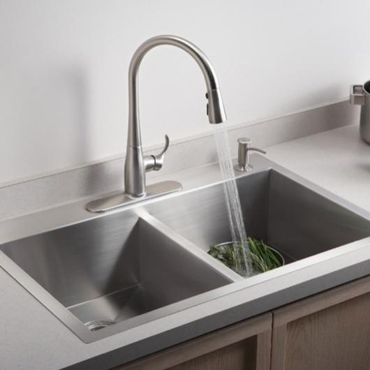 Actualización práctica para cocina y baños / Kohler