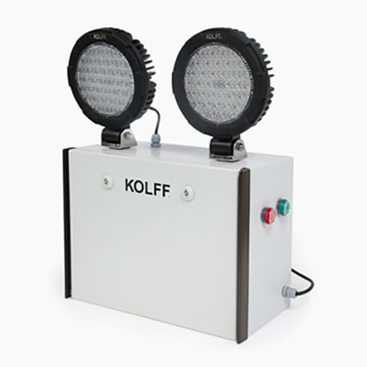 Iluminaci n de emergencia kc 2559 led de kolff - Luces emergencia led ...
