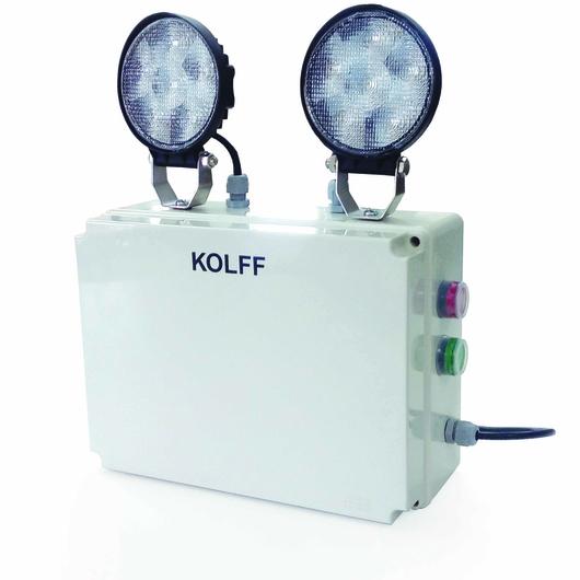 Iluminación de Emergencia ET-2000 S LED / KOLFF