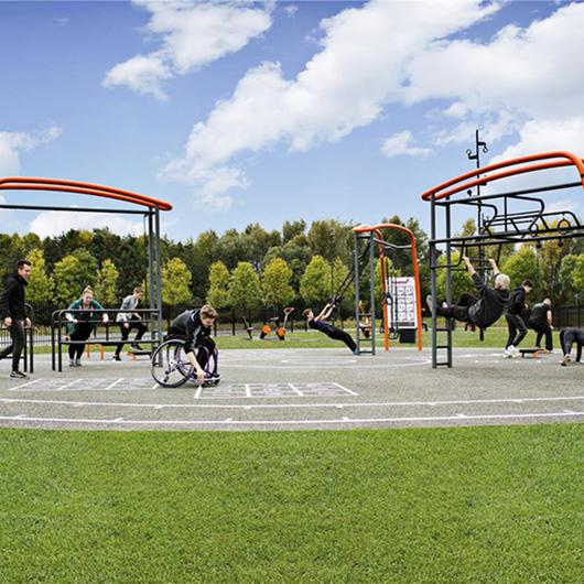 Equipamiento deportivo KOMPAN® Cross Training / UrbanPlay