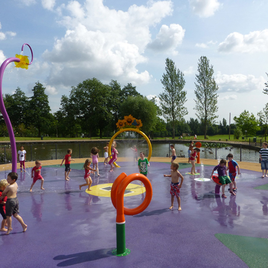 Plazas de Agua Waterplay®
