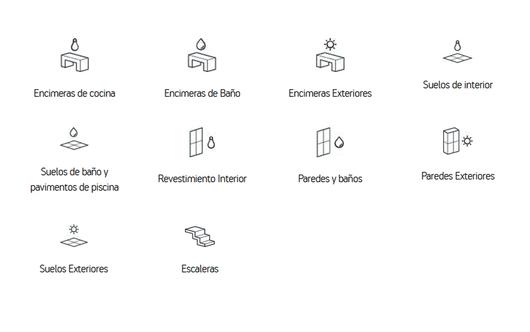 Dekton® Tech Collection | Aplicaciones